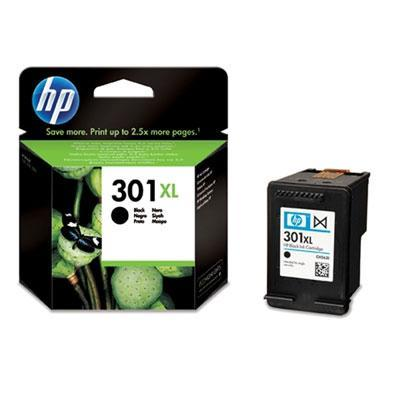 Hp inktcartridge: 301XL originele high-capacity zwarte inktcartridge
