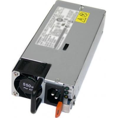 IBM System x 550W High Efficiency Platinum AC Power Supply power supply unit - Grijs