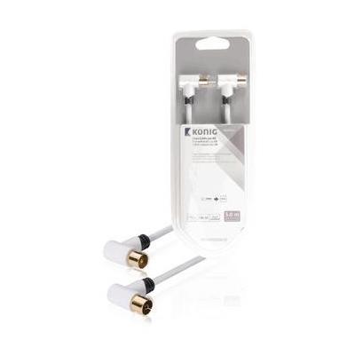 König KNS40020W50 coax kabel