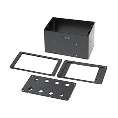 Extron Cable Cubby Retractor Bracket Kit – Double - Zwart