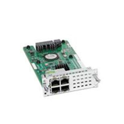 Cisco 4-port Layer 2 Gigabit Ethernet LAN Switch NIM, Spare Netwerk switch module
