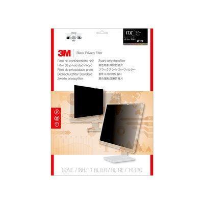 3M PF170C4B Schermfilter - Zwart