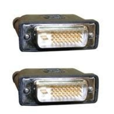 Microconnect DVI-D (DL) 2m DVI kabel  - Zwart