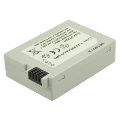 2-Power Digital Camera Battery 7.2V 850mAh - Wit