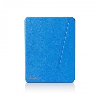 Rakuten kobo e-book reader case: Aura H2O Edition 2 SleepCover, Blue - Blauw