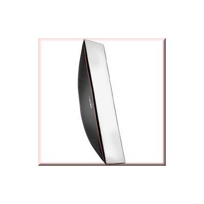 Walimex softbox: pro Softbox OL 25x150cm Multiblitz V - Zwart, Wit