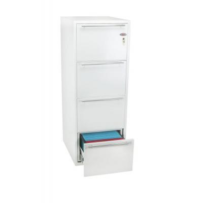 Phoenix archiefkast: 1405 x 530 x 675 mm, 204 L, Key Lock, 253 kg, White - Wit