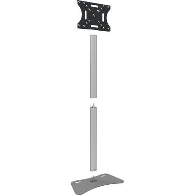 SmartMetals Deelbaar statief 2250mm (Light Serie) incl. bracket max 600x400 TV standaard - Grijs