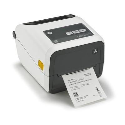 Zebra ZD420t TT (Healthcare) - USB - Ethernet - BTLE (203dpi) Labelprinter - Wit