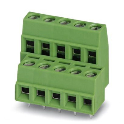 Phoenix Contact Printklem - MKKDSN 1,5/ 2 Elektrische aansluitklem - Groen