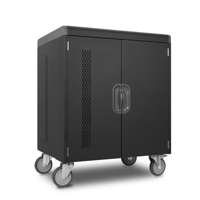 Kensington AC32 32-Bay Security Charging Cabinet Portable device management carts & cabinet - Zwart