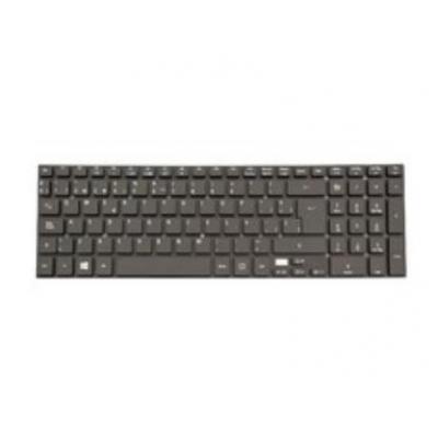 Acer notebook reserve-onderdeel: Keyboard (Spanish), Black - Zwart