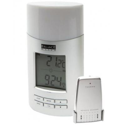 Balance weerstation: Radio-Controlled Weather Station Indoor and Outdoor White - Wit