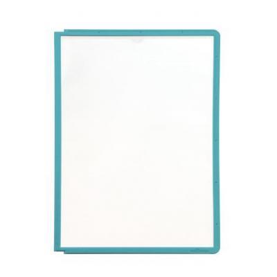 Durable : SHERPA Zichtpanelen met profiellijst voor DIN A4 formaat, groen