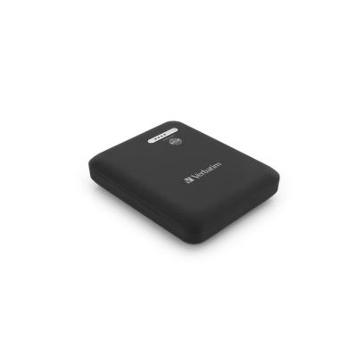 Verbatim Dubbel draagbaar USB Power Pack - 13.600 mAh Powerbank - Wit