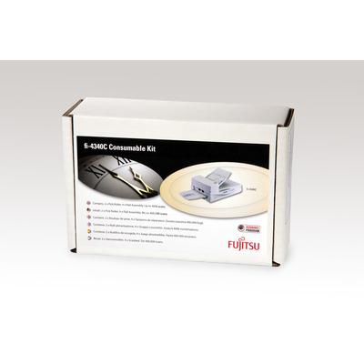 Fujitsu printing equipment spare part: Set met verbruiksartikelen voor fi-4340C - Multi kleuren