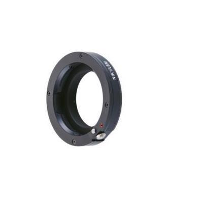 Novoflex lens adapter: Adaptor Leica M Obj. f. Nikon 1 Camera - Zwart