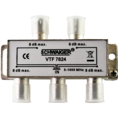 Schwaiger VTF7824531 kabel splitter of combiner