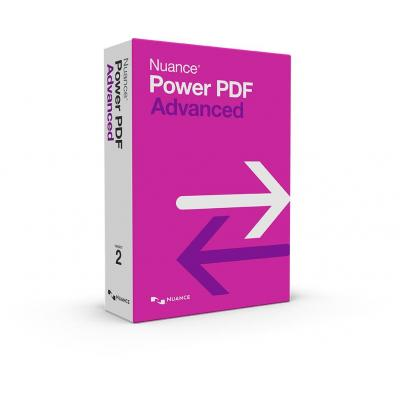 Nuance document management software: Power PDF Advanced 2.0