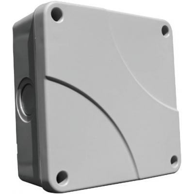 Klikaanklikuit electrical box: Montagedoos, IP54, kabelwartel voor kabels tussen 7 en 12 mm - Grijs