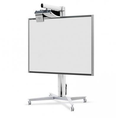 Sms smart media solutions projector plafond&muur steun: 50kg, 8kg, aluminium/white - Aluminium, Wit