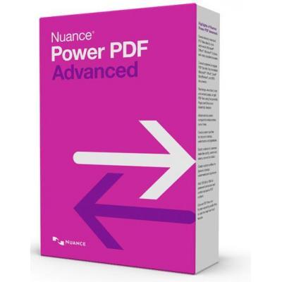 Nuance desktop publishing: PDF Converter Power PDF Advanced