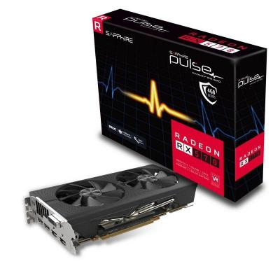 Sapphire videokaart: RADEON RX 570 4GB GDDR5 PULSE