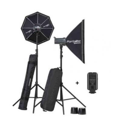 Elinchrom D-LITE RX 4/4 Softbox To Go photo studio equipment set - Zwart
