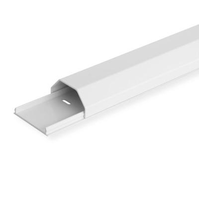 ROLINE Kabelgoot, Aluminium, 50X26Mm, Wit, 1,1 M, 1.1M Kabel beschermer