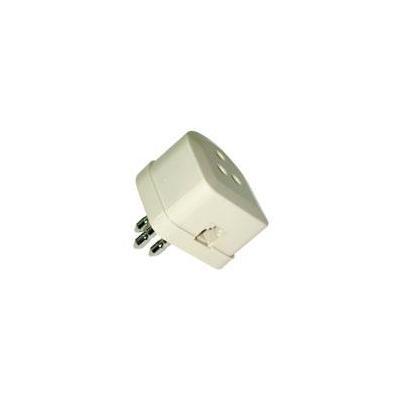 Lindy netwerk splitter: Adapter RJ-11 / RJ-12 - Wit