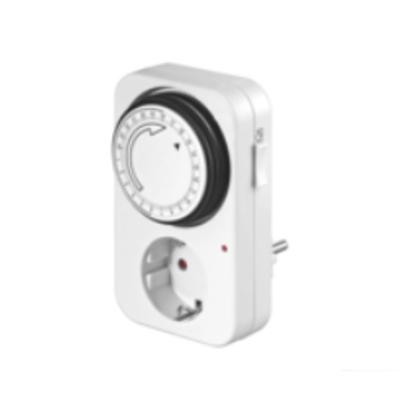 Microconnect Analog 24h Timer, LED Elektrische timer - Wit