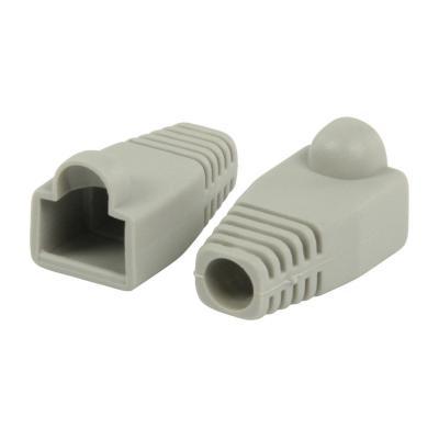 Valueline kabelbeschermer: RJ45 strain relief boot grey - Grijs