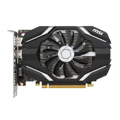 Msi videokaart: GeForce GTX 1050 Ti 4G OC - Zwart