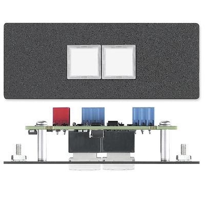 Extron CCR 2BLB Drukknop-panel - Zwart
