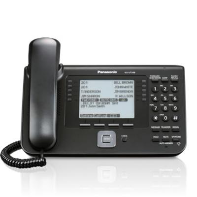Panasonic ip telefoon: KX-UT248 - Zwart