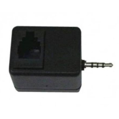POLY 2.5mm/RJ-9 Kabel adapter - Zwart