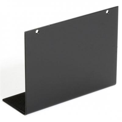 Black Box Blanking Plate for Rackmount Chassis, Four-Slot Rack toebehoren - Zwart