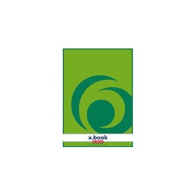 Herlitz writing pad A4 50 sh. blank Schrijfblok - Groen, Wit
