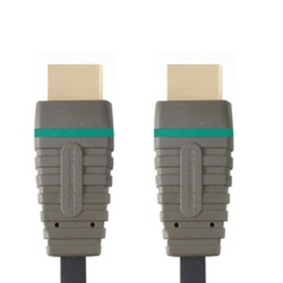 Bandridge BVL1201 HDMI kabel - Zwart, Grijs