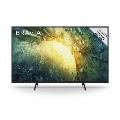 """Sony 49"""", 3840 x 2160, Edge LED, Smart TV, DVB-T/T2/S2/C, HDMI, USB Led-tv - Zwart"""