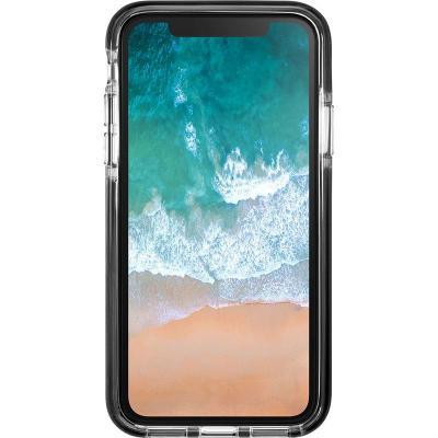 LAUT FLURO [IMPKT] Mobile phone case - Zwart, Doorschijnend