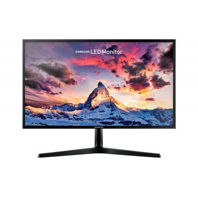 Samsung monitor: LS24F356FHU - Zwart