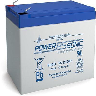 Power-Sonic PS-12120VDS UPS batterij - Blauw, Grijs