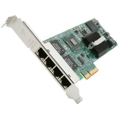 Fujitsu 4x1Gbit Cu Intel I350-T4 PCIe x4 card Netwerkkaart