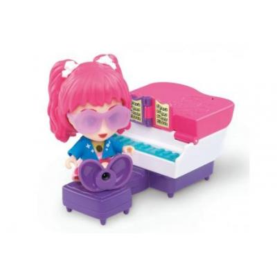 Vtech children toy figure: 80-159604 - Roze, Violet, Wit