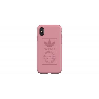 Adidas mobile phone case: Apple iPhone X, TPU - Roze