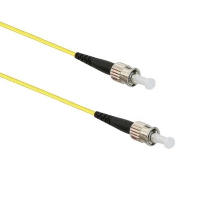 EECONN Glasvezel Patchkabel, 9/125 (OS1), ST - ST, Simplex, 3m Fiber optic kabel - Geel