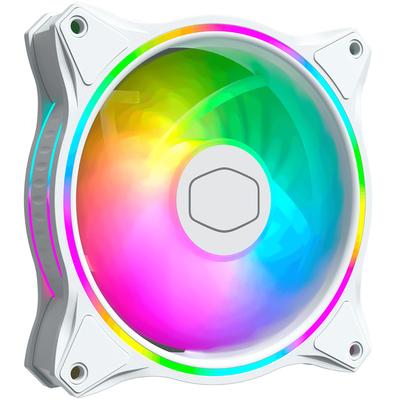 Cooler Master MasterFan MF120 Halo White Edition Hardware koeling - Wit