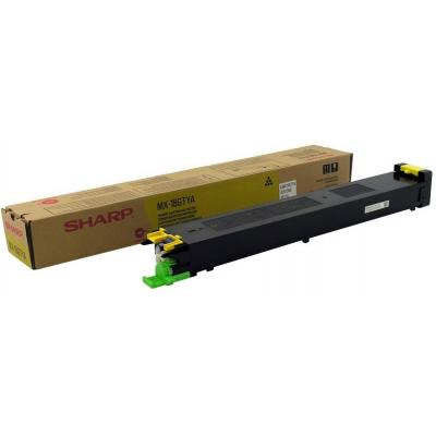 Sharp Yellow Cartridge, 10000 Pages @ 5% Coverage Toner - Geel
