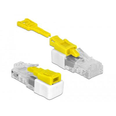 DeLOCK 85334 Kabel connector - Wit, Geel
